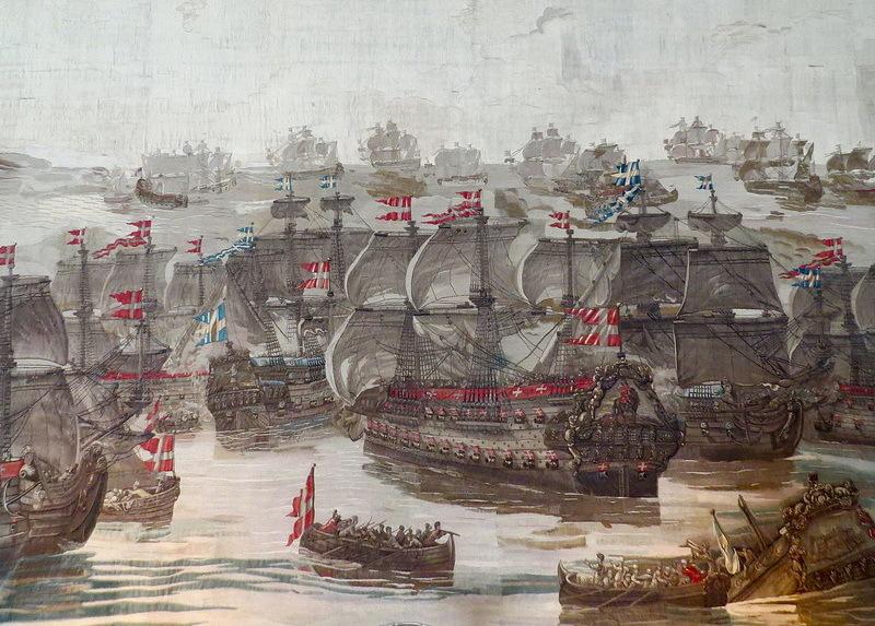 Своего рода прелюдия к битве в бухте Кёге — сражение у острова Мён, состоявшееся 31 мая — 1 июня 1677 года. upload.wikimedia.org - На суше и на море | Warspot.ru
