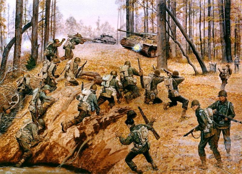 Спасение «потерянного батальона», современное изображение.en.wikipedia.org