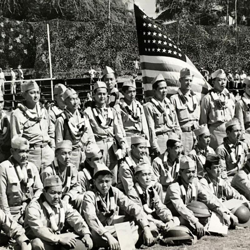 Выпускники разведшколы на Гавайях, 1944 год. remembrance.pacifichistoricparks.org - Самураи против Рейха   Warspot.ru