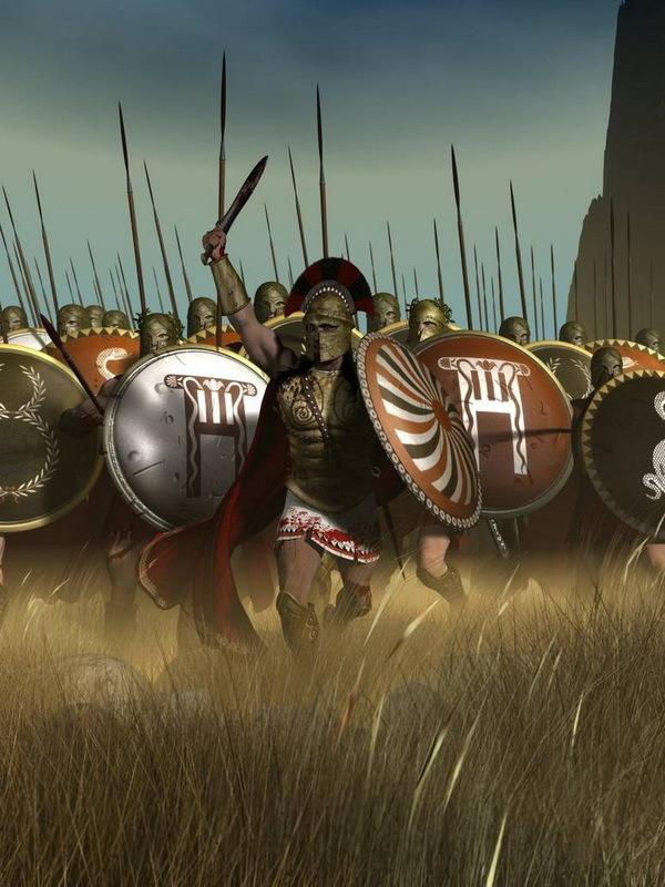 Наступающая фаланга. pinterest.com - Анабасис: по следам греческих наёмников | Warspot.ru