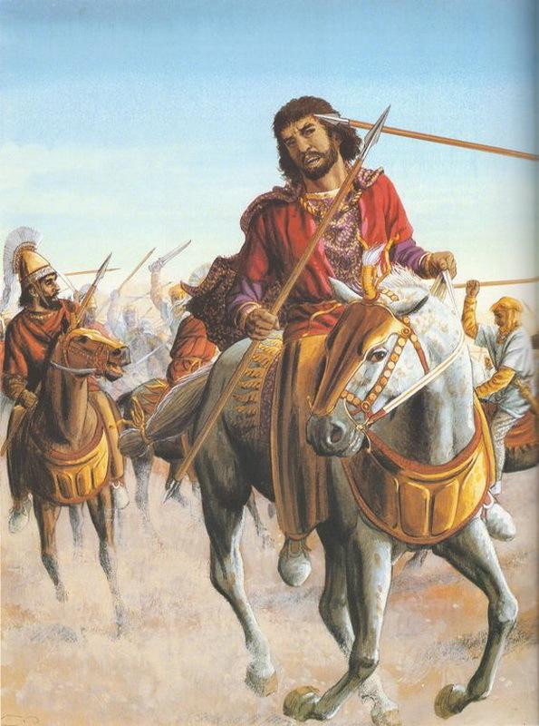 Смерть Кира в битве при Кунаксе. 300spartanwarriors.blogspot.com - Анабасис: по следам греческих наёмников | Warspot.ru