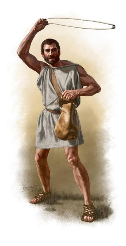Родосский пращник. facebook.com - Анабасис: по следам греческих наёмников | Warspot.ru