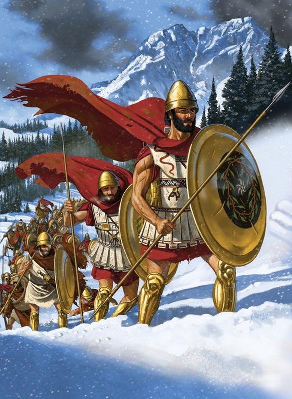 Греки в горах. pinterest.com - Анабасис: по следам греческих наёмников | Warspot.ru