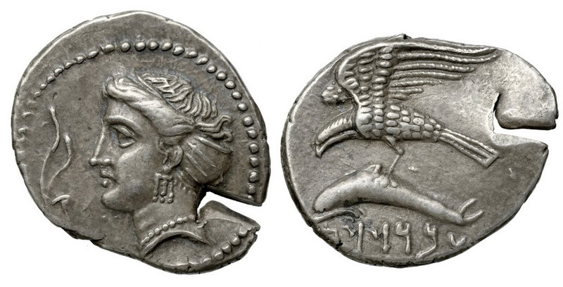 Монета Синопа, отчеканенная сатрапом Аброкомасом (начало IV века до н.э.). en.wikipedia.org - Анабасис: по следам греческих наёмников | Warspot.ru