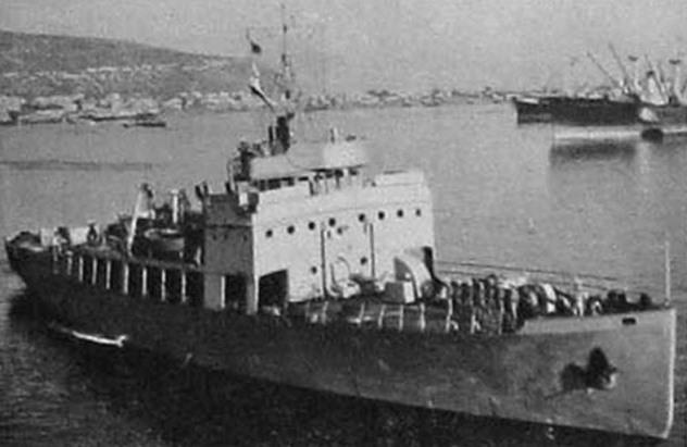 Бывший ледокол «Эйлат» — самый крупный корабль израильского флота Jane's All the World Fighting Ships 1953-54 - Первый бой израильского флота | Warspot.ru