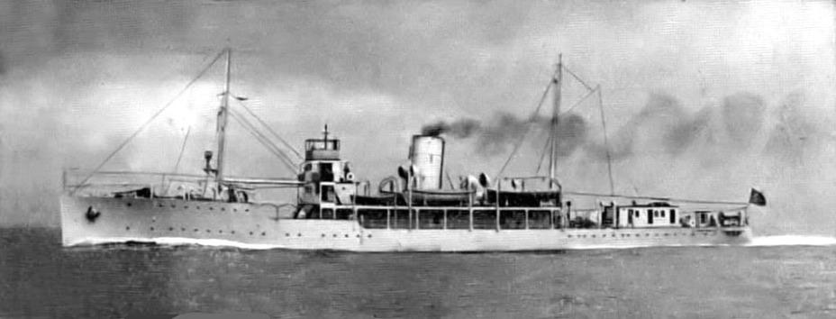 «Эмир Фарук», флагман египетского флота tynebuiltships.co.uk - Первый бой израильского флота | Warspot.ru