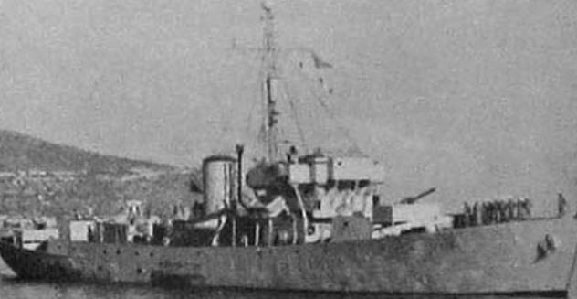 Израильский корвет «Хагана», однотипный с «Веджвудом» Jane's All the World Fighting Ships 1953-54 - Первый бой израильского флота | Warspot.ru