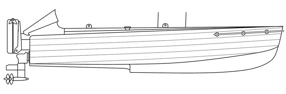 Схема итальянского взрывающегося катера MT. Wikimedia Commons, работа пользователя PimboliDD - Камикадзе израильского флота | Warspot.ru