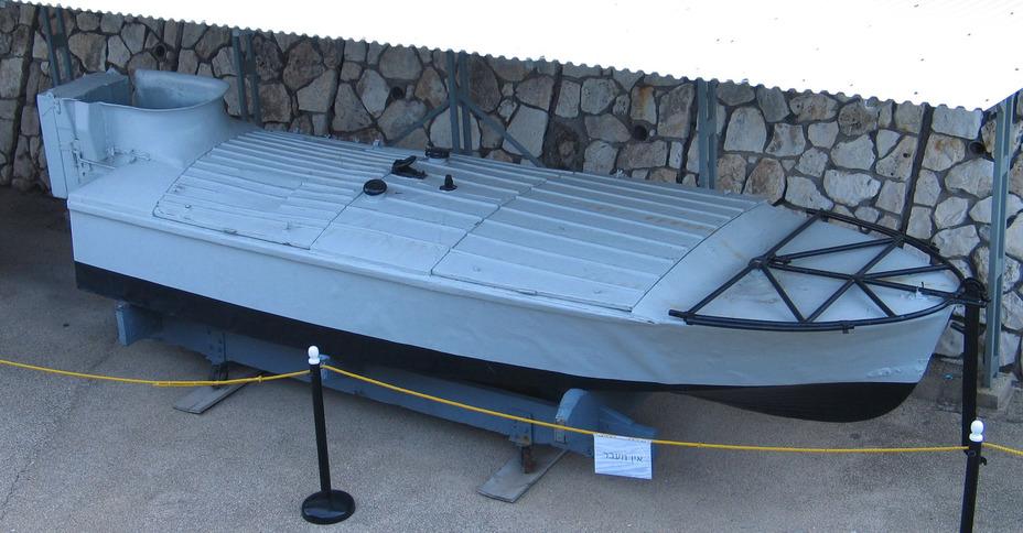 Взрывающийся катер MT в музее Хайфы - Камикадзе израильского флота | Warspot.ru