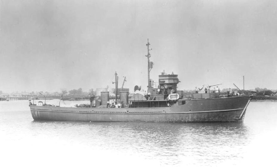 Британский тральщик типа BYMS №2030. Imperial War Museum - Камикадзе израильского флота | Warspot.ru