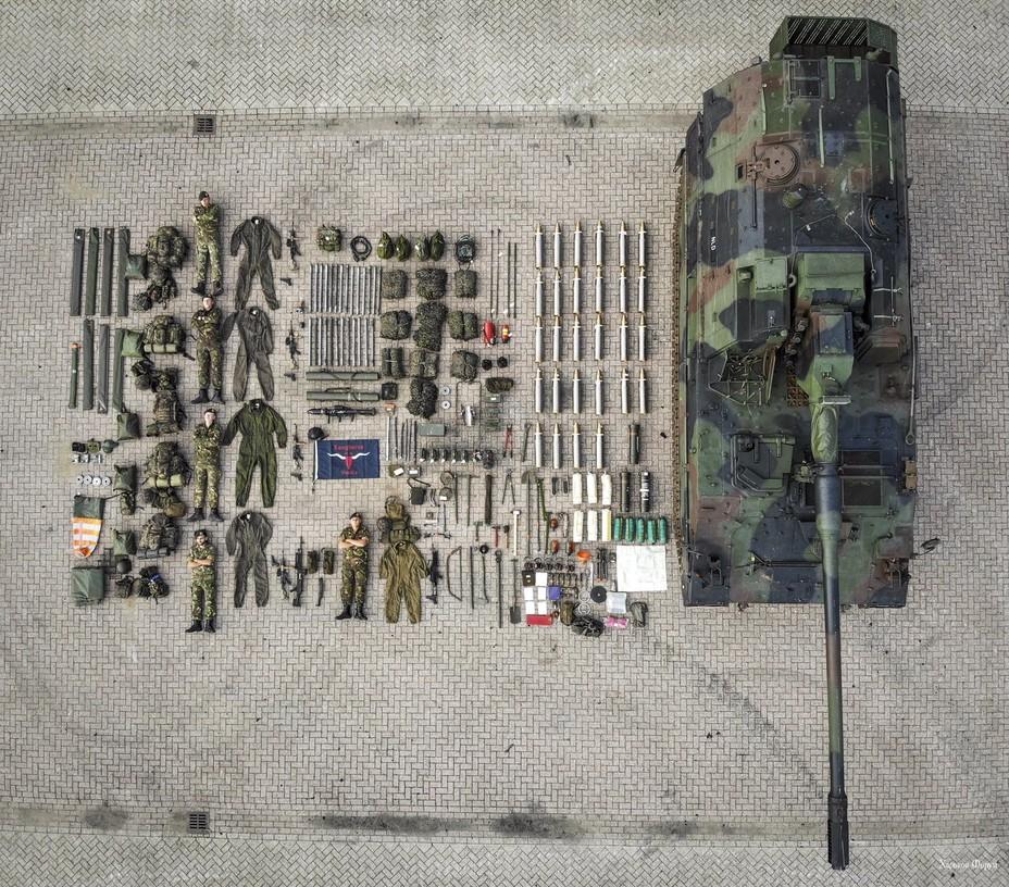 САУ PzH2000 и её экипаж, Нидерланды twitter.com - #TetrisChallenge: военные в деле | Warspot.ru