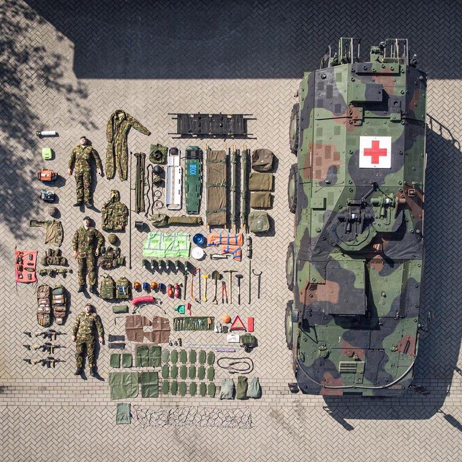 «Медичка» армии Нидерландов twitter.com - #TetrisChallenge: военные в деле | Warspot.ru