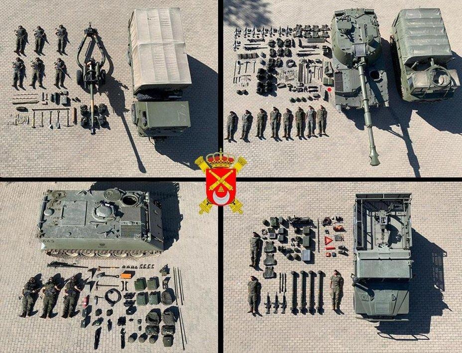 Коллаж от испанских военных twitter.com - #TetrisChallenge: военные в деле | Warspot.ru