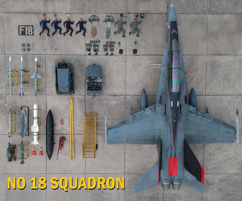 F/A-18D Hornet ВВС Малайзии himpunanceritalawak.com - #TetrisChallenge: военные в деле | Warspot.ru