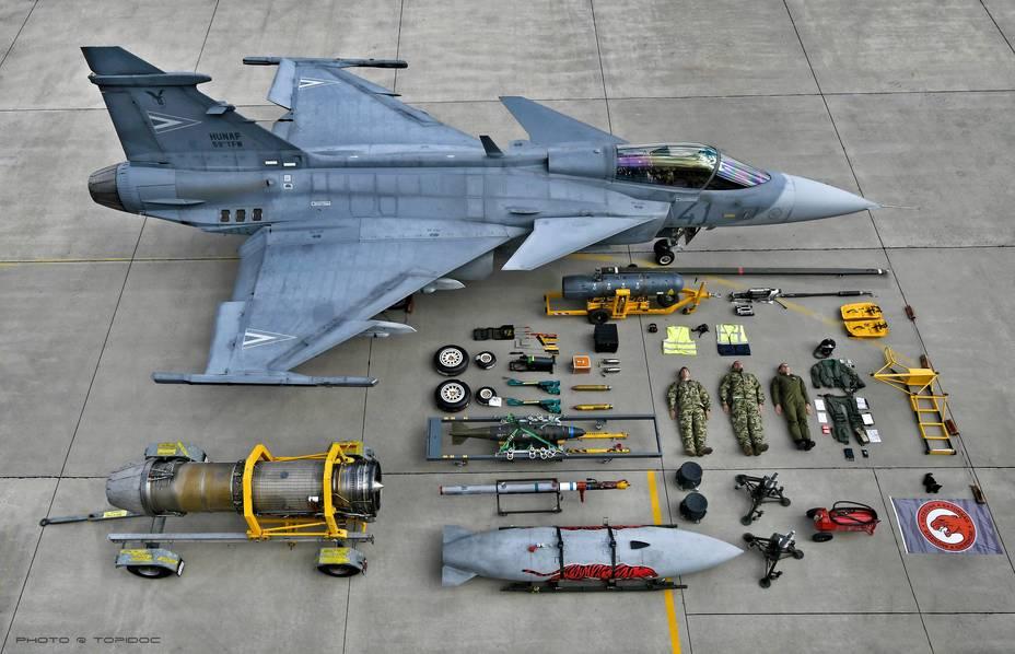 Истребитель Gripen венгерских ВВС kisalfold.hu - #TetrisChallenge: военные в деле | Warspot.ru