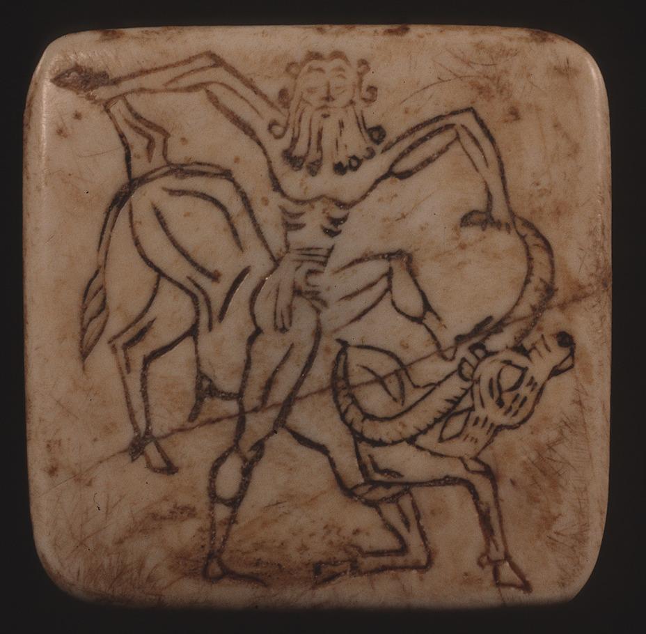 Гильгамеш побеждает «небесного быка». Калифорнийский музей древнего искусства cmaa-museum.org - «Его руки копьё сжимают, дубинка вражьи затылки молотит» | Warspot.ru