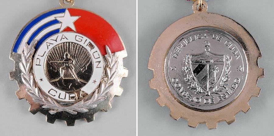 Лицевая и оборотная стороны «Национального ордена Плайя-Хирон» - Warspot о наградах: герой залива Свиней | Warspot.ru
