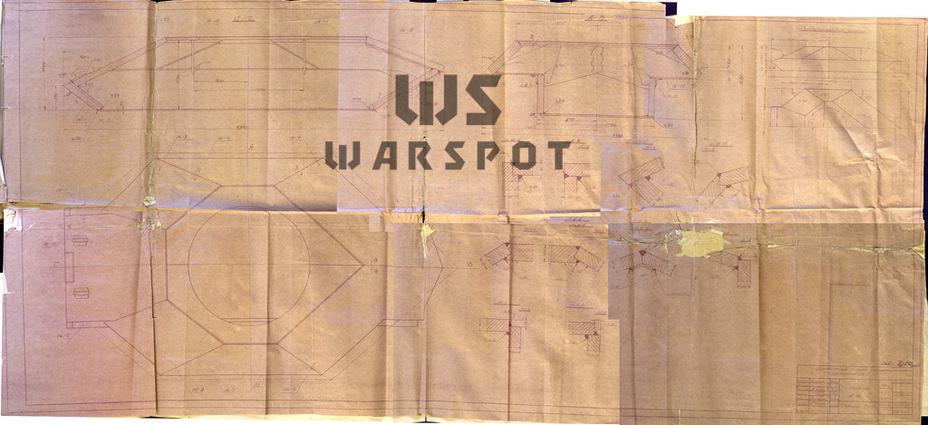 Схема макета №16. Эту схему соединения листов корпуса ИС-6 выбрали на УЗТМ - Не попавший в амплитуду   Warspot.ru