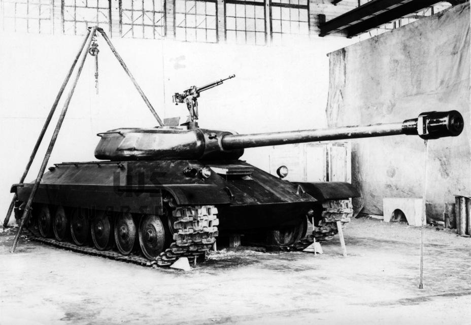 Полноразмерный макет Объекта 252, осень 1944 года - Не попавший в амплитуду   Warspot.ru