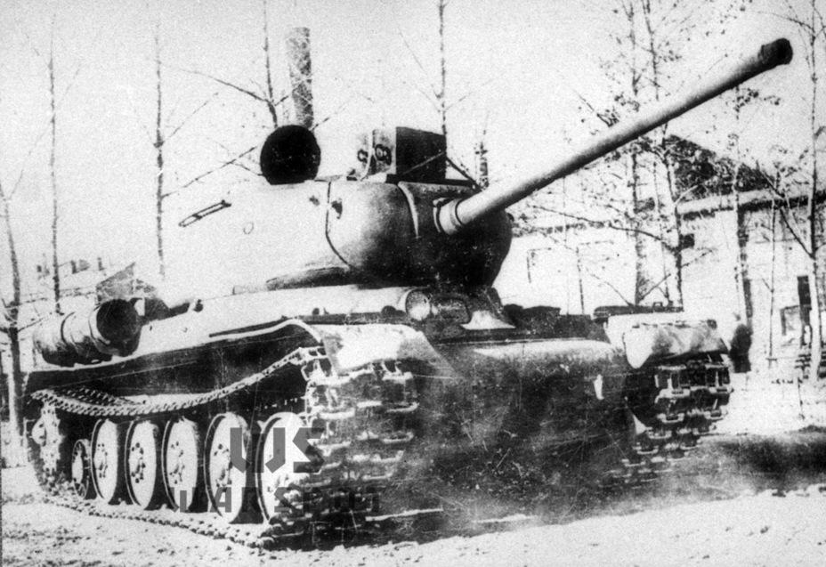 Объект 244 с опорными катками ИС-6, догруженный до боевой массы 51,5 т - Не попавший в амплитуду   Warspot.ru