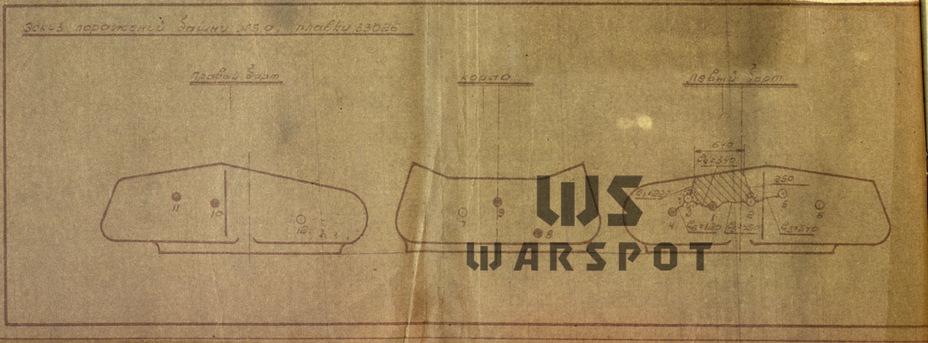 Результат обстрела башни ИС-6, изготовленной из стали 70Л - Не попавший в амплитуду   Warspot.ru