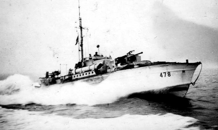 Британский торпедный катер МТВ-478, принадлежавший 35-й флотилии - Шнелльботы против «Нептуна» | Warspot.ru