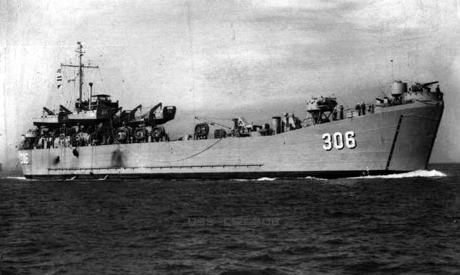 Танкодесантное судно LST типа Mk-2, полное водоизмещение 4080 тонн - Шнелльботы против «Нептуна» | Warspot.ru