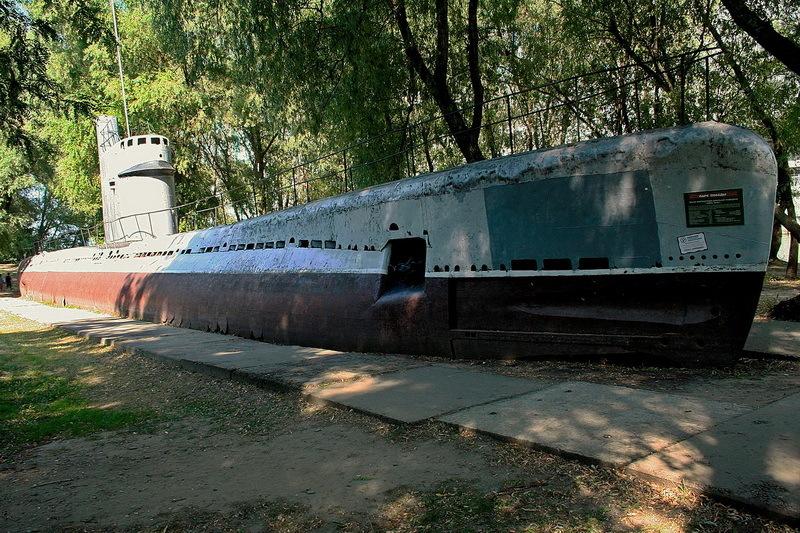 Подводная лодка М-261 того же проекта А615, что и попавшая в переделку М-351. Музей военной техники «Оружие Победы», Краснодар. commons.wikimedia.org - Цифры Warspot: 4 дня  | Warspot.ru