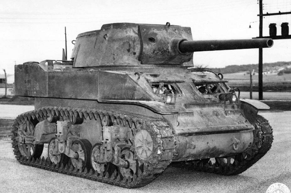 Испытания 75-мм орудия M3 в орудийной установке HMC M8. Они показали, что теоретически такое мощное орудие можно ставить, но с рядом оговорок - Лёгкий и долгоиграющий   Warspot.ru