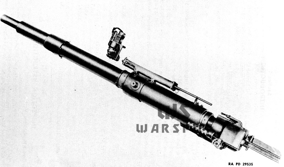 75-мм авиационная пушка M5 в орудийной установке M9. Данная система послужила базой для создания 75-мм орудия для лёгкого танка - Лёгкий и долгоиграющий   Warspot.ru