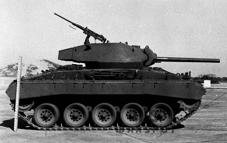 За счёт иных пропорций корпуса и башни танк выглядел меньшим, чем Light Tank M5A1, хотя на самом деле это не так - Лёгкий и долгоиграющий   Warspot.ru