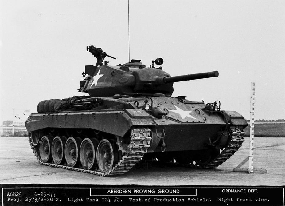 Доработанный второй опытный образец Light Tank T24, фактически головная машина серии - Лёгкий и долгоиграющий   Warspot.ru