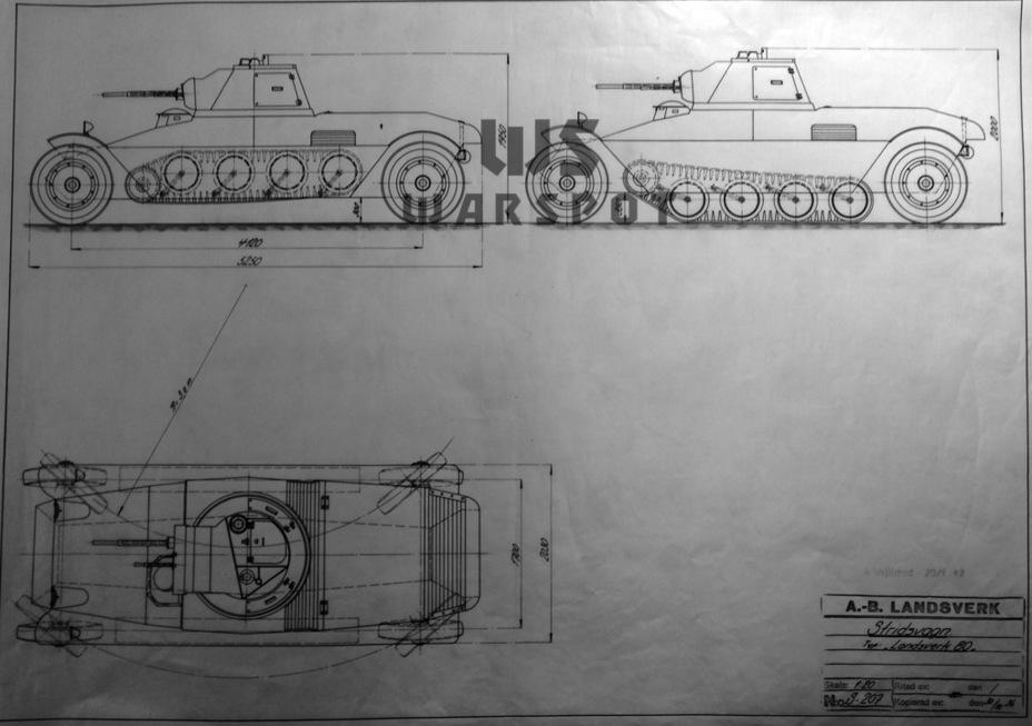 Landsverk работала над колёсно-гусеничными танками до конца 30-х годов - Теория бронетанковых заблуждений | Warspot.ru