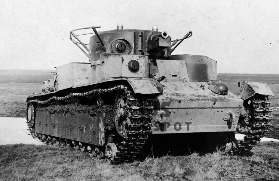 Т-28 был лучшим из предвоенных средних танков, но его ходовая часть имела определённые ограничения - Теория бронетанковых заблуждений | Warspot.ru