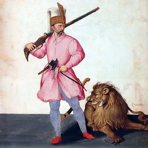 Янычар на рисунке Якопо Лигоцци, около 1577–1580 гг. - «Вся Венгрия султану принадлежит…»   Warspot.ru
