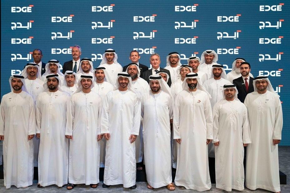 Главы оружейных компаний на церемонии создания Edge defensenews.com - Edge: оружейный конгломерат Ближнего Востока | Warspot.ru