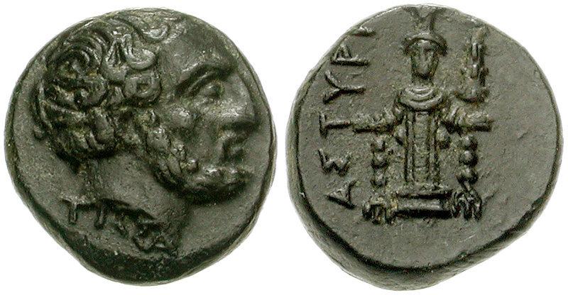 Монета с изображением Тиссаферна. wikimedia.org - Военная кампания спартанца Фиброна   Warspot.ru