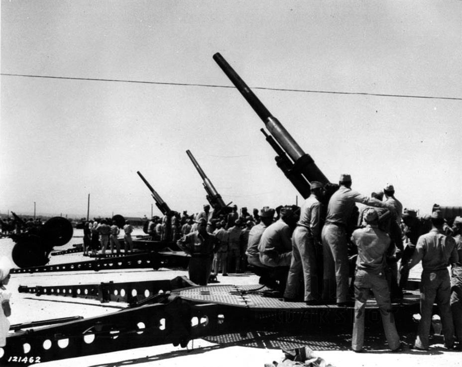 3-дюймовая зенитная пушка M3. Это орудие оказалось идеальным кандидатом на роль вооружения американских тяжёлых танков и истребителей танков - Средний истребитель по-американски | Warspot.ru