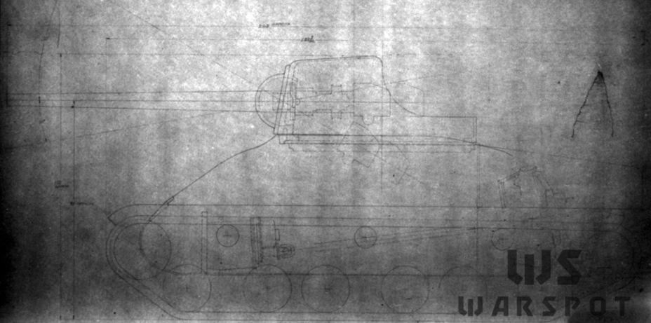 Изначальный проект Gun Motor Carriage T35, который базировался ещё на Medium Tank T6 - Средний истребитель по-американски | Warspot.ru
