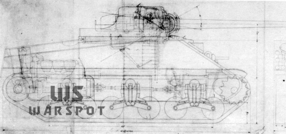 К концу ноября 1941 года Абердинский полигон доработал проект GMC T35, при этом машина получала спарку дизельных моторов General Motors - Средний истребитель по-американски | Warspot.ru