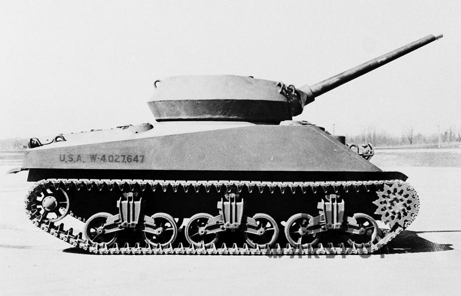 Несмотря на то, что конфигурация корпуса почти не отличалась от Medium Tank M4A2, на самом деле он имел ряд отличий (прежде всего, по толщине брони) - Средний истребитель по-американски | Warspot.ru