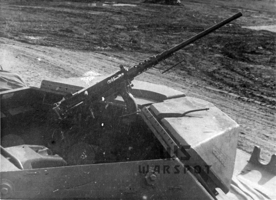 Подобным образом проходила модернизация GMC M10 выпуска осени 1942 года. Крепления шпор сохранились, но при этом поставили противовесы заводского изготовления - Средний истребитель по-американски | Warspot.ru
