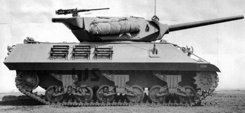 GMC M10 и M10A1 последних выпусков уже не имели креплений для экранов. Также изменилась конфигурация кормы башни - Средний истребитель по-американски | Warspot.ru
