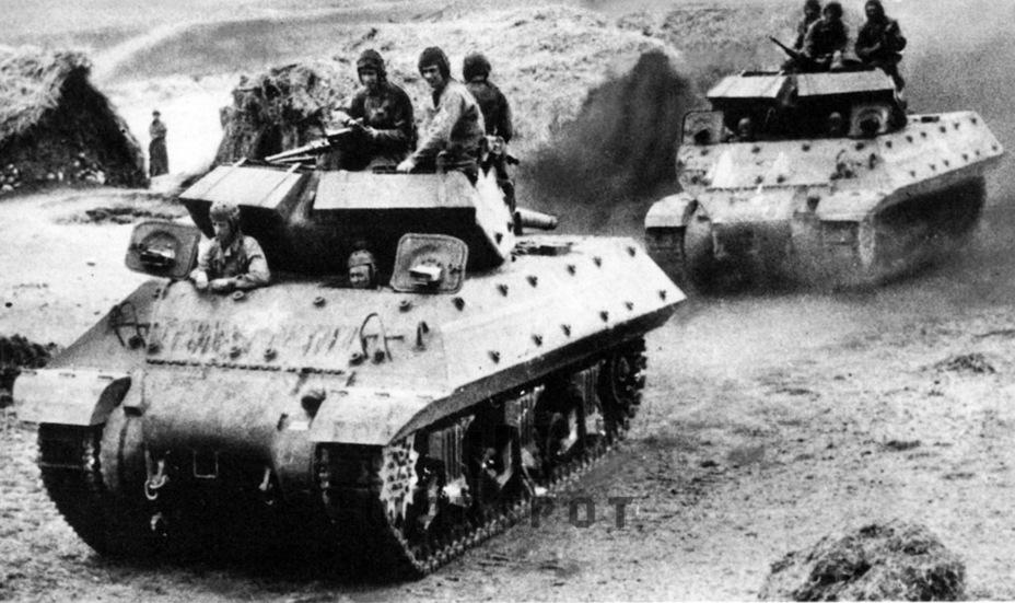 Дебют GMC M10 в Тунисе оказался успешным. Самоходка показала себя подвижной боевой машиной с мощным орудием, способной бороться с любым танком того периода - Средний истребитель по-американски | Warspot.ru
