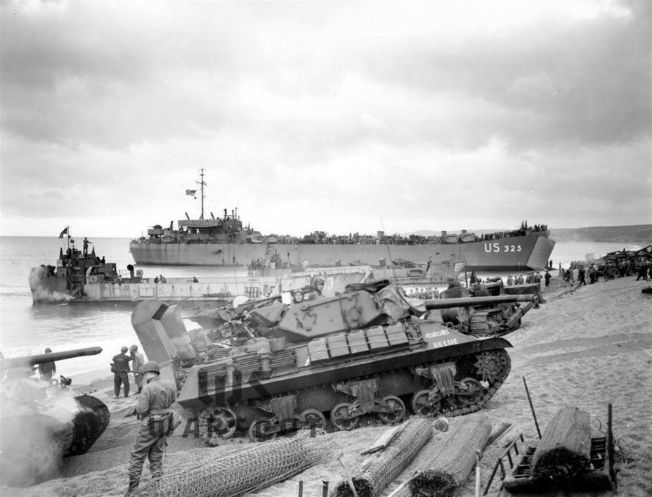 Применялись GMC M10 и с самого начала боёв в Нормандии - Средний истребитель по-американски | Warspot.ru