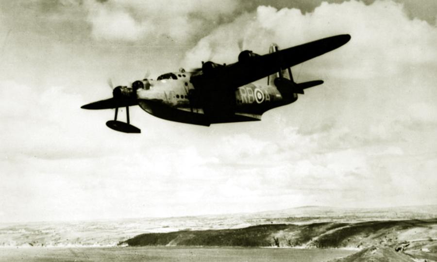Летающая лодка «Сандерленд» 10-й эскадрильи Королевских Австралийских ВВС - «Мюнстерланд»: трудная мишень | Warspot.ru