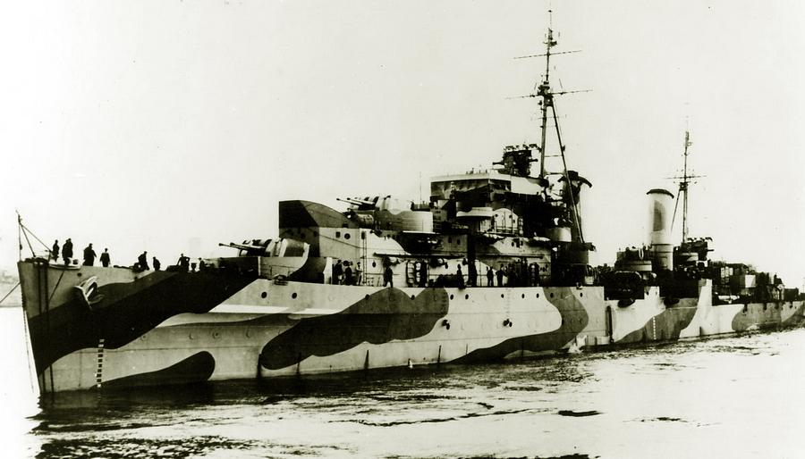 Британский лёгкий крейсер «Харибда» - «Мюнстерланд»: трудная мишень | Warspot.ru