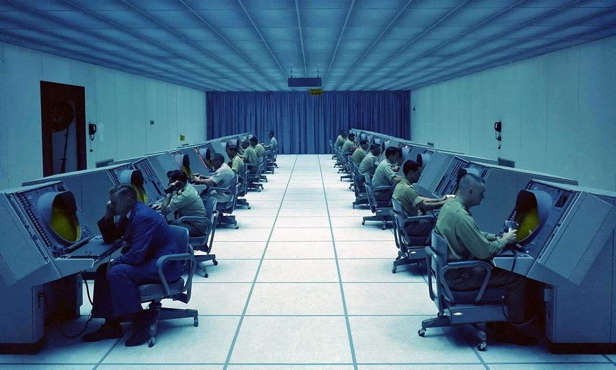 ?Интерьер одной из комнат центра управления системы SAGE - Кибернетика на армейской службе | Warspot.ru