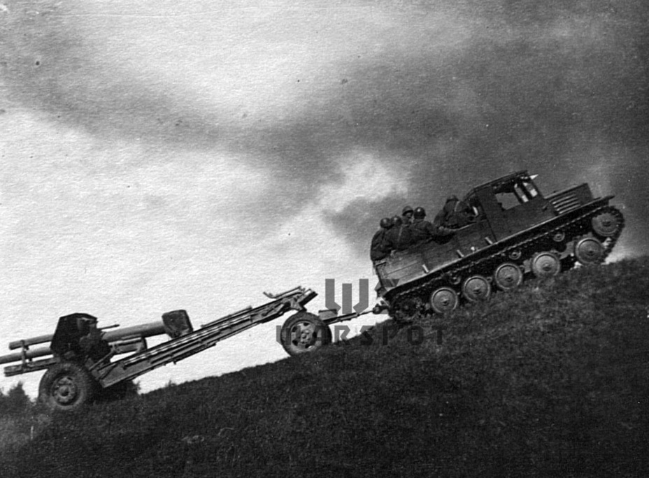 Испытания НАТИ-Д, позже превратившегося в Я-11, 1942 год - Теория бронетанковых заблуждений: первые годы Великой Отечественной | Warspot.ru