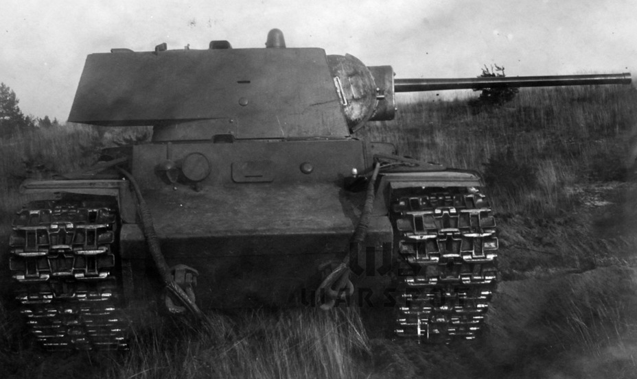 Фотография испытанной летом 1941 года 76-мм пушки ЗИС-5 с длиной ствола 50 калибров в мемуарах Грабина и Шашмурина проходит как 85-мм пушка в башне КВ-1 - Теория бронетанковых заблуждений: первые годы Великой Отечественной | Warspot.ru